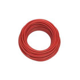 Câble souple 25mm² rouge 1m