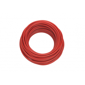 Câble souple rouge 6mm² 50m